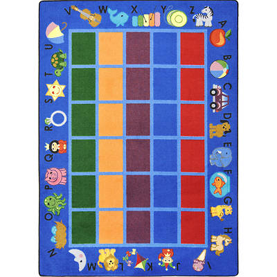 Picture of Alphabet Phonics Children's Area Rug