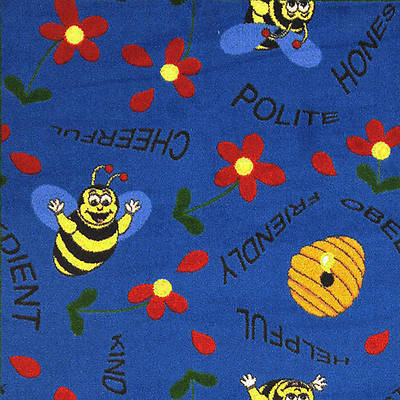 Bee Attitudes Childrens Area Rug