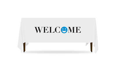 Icon Welcome Table Throw