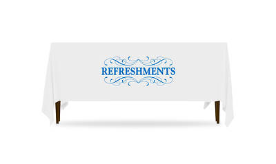 Picture of Filigree Refreshments Table Throw