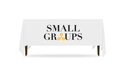 Icon Small Groups Table Throw
