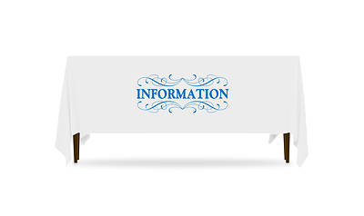 Picture of Filigree Information Table Throw