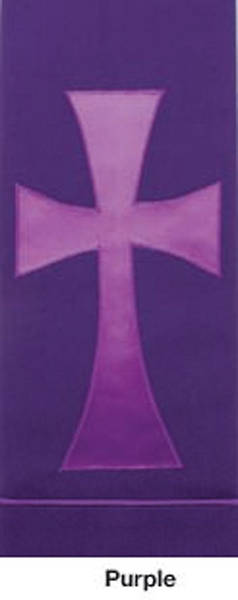Picture of Pure and Simple Cross Deluxe Altar Runner Purple