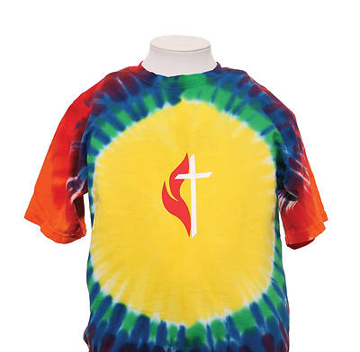 Picture of UMC Youth Rainbow Tie-Dye Tee - M