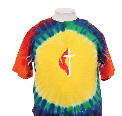 Picture of UMC Youth Rainbow Tie-Dye Tee - XL