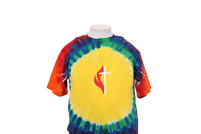 Picture of UMC Youth Rainbow Tye Dye Tee