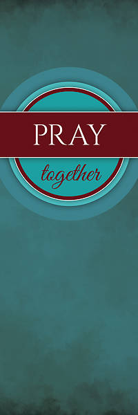 Picture of Together Circles Pray 2' x 6' Banner