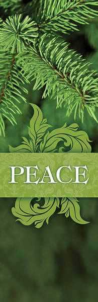 Picture of Together for the Holidays Peace 2' x 6' Banner