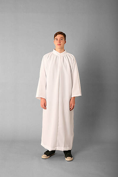 Picture of Abbey Brand Style 206 Polyester Blend Acolyte Alb White - 15