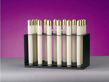 "Picture of Lux Mundi Candle Rack  - 1"" Candles"