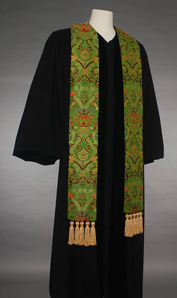 Picture of Coronation Tapestry 70 Series Green Stole