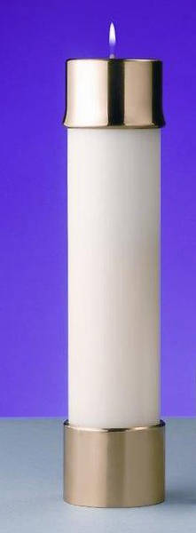 """Picture of Lux Mundi Liquid Wax Candle Shell - 2-5/8"""" x 8"""""""