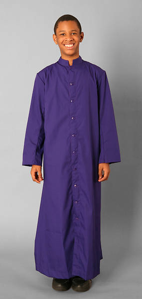 Picture of Abbey Brand Style 215 Button Front Acolyte Cassock