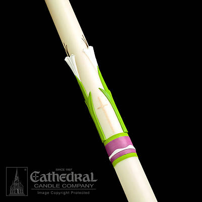 Picture of Cathedral Easter Glory Paschal Candle