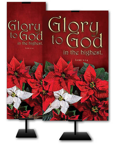 Picture of Glory To God Christmas Banner