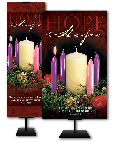 Hope Advent Wreath Week 1 Banner
