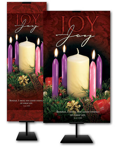 Picture of Joy Advent Wreath Week 3 Banner