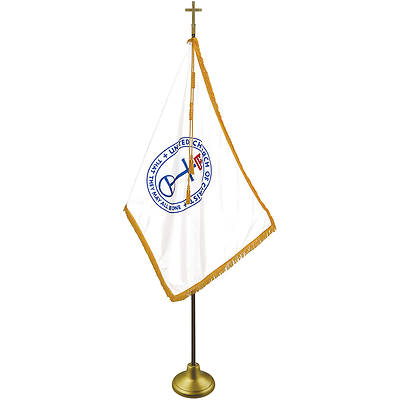 Picture of United Church of Christ Indoor Deluxe Flag Set