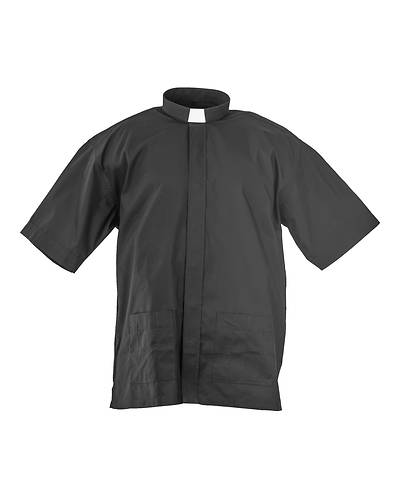 Picture of MDS Men's Short Sleeve Panama Clergy Shirt