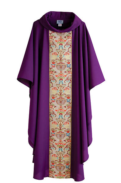 Picture of MDS Classic Coronation Purple Chasuble