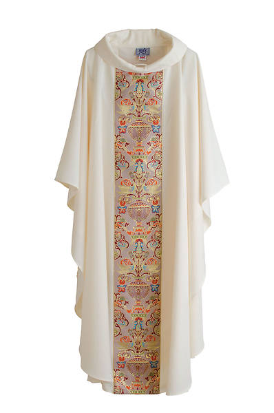 Picture of MDS Classic Coronation Ivory Chasuble