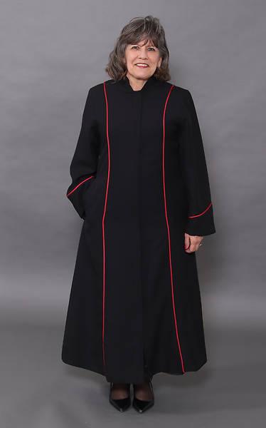 Picture of Abbott Hall Black Celeste 5 Women's Speedship Pulpit Robe