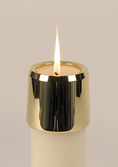 Koleys Brass Candle Follower