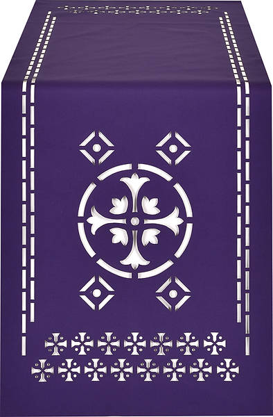 Picture of PraiseBanners Ecclesiastical Collection Cross Altar Overlay