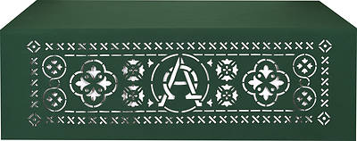 Picture of PraiseBanners Ecclesiastical Collection Alpha Omega Altar Cloth
