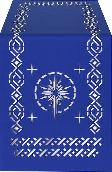 Picture of PraiseBanners Ecclesiastical Collection Star Altar Overlay
