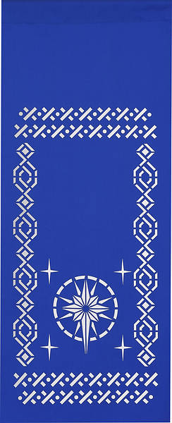 PraiseBanners Ecclesiastical Collection Star Pulpit Scarf