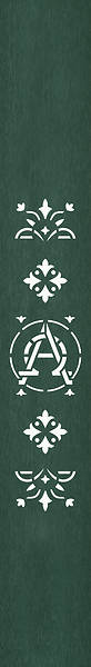 PraiseBanners Ecclesiastical Collection Alpha Omega Bookmark
