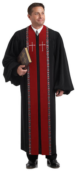 Picture of Murphy Qwick-Ship RT Wesley H-179 Men's Pulpit Robe