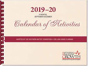 SBC 2019-20 Calendar of Activities