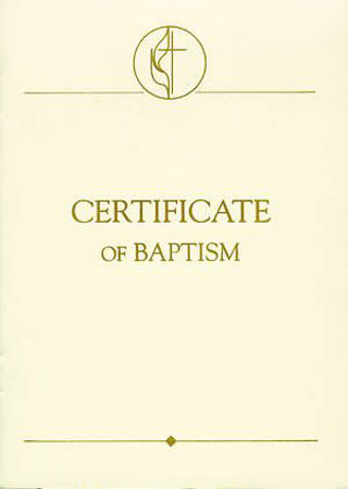 Picture for category United Methodist Certificates